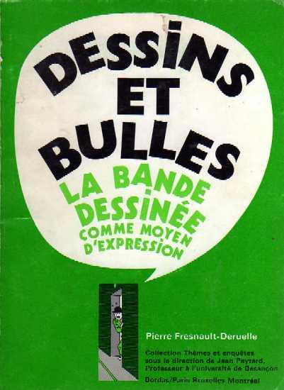 Couverture de (DOC) Études et essais divers - Dessins et bulles : la bande dessinée comme moyen d'expression
