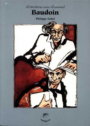 Couverture de (AUT) Baudoin, Edmond -7- Entretiens avec Edmond Baudoin