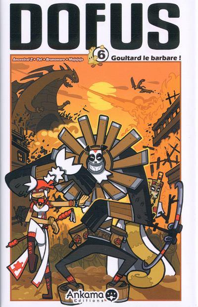 Couverture de Dofus -6- Goultard le barbare !
