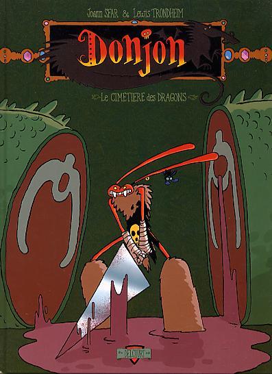 Couverture de Donjon Crépuscule -101- Le Cimetière des dragons