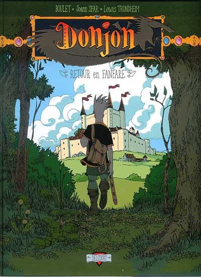 Couverture de Donjon Zénith -6- Retour en fanfare