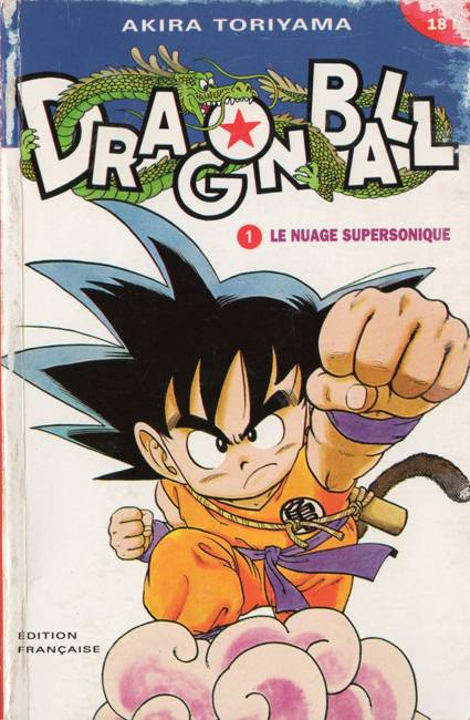 Couverture de Dragon Ball -1- Le nuage supersonique