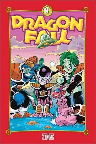 Couverture de Dragon Fall -4- Go! Go! Power!