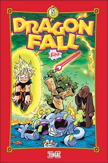 Couverture de Dragon Fall -5- Touche Pas à Mes Boules !