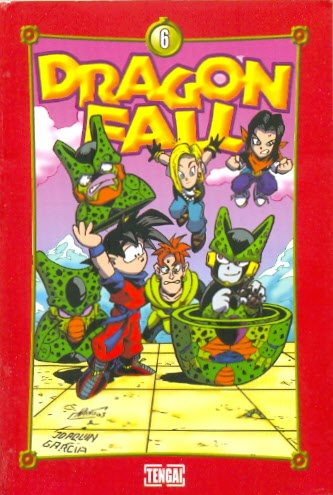 Couverture de Dragon Fall -6- Branlée cybernétique