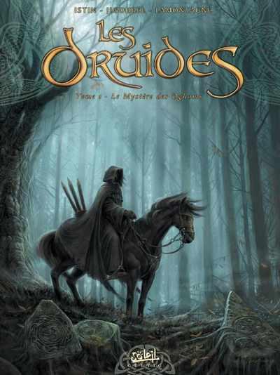 Couverture de Les druides -1- Le mystère des Oghams