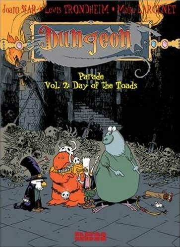 Couverture de Dungeon Parade -2- Day of the Toads