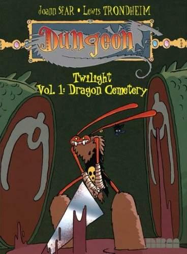 Couverture de Dungeon twilight -1- Dragon Cemetery