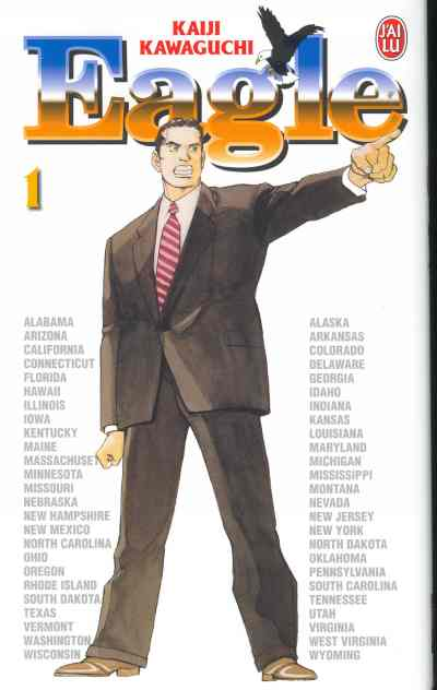 Couverture de Eagle -1- Candidat Kenneth Yamaoka