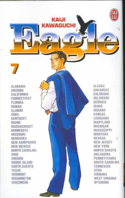 Couverture de Eagle -7- Le Siège du pouvoir
