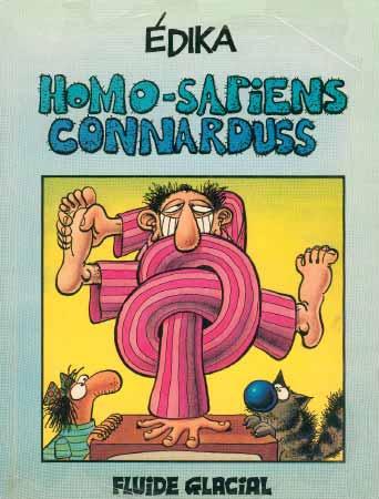 Couverture de Édika -2- Homo-Sapiens Connarduss