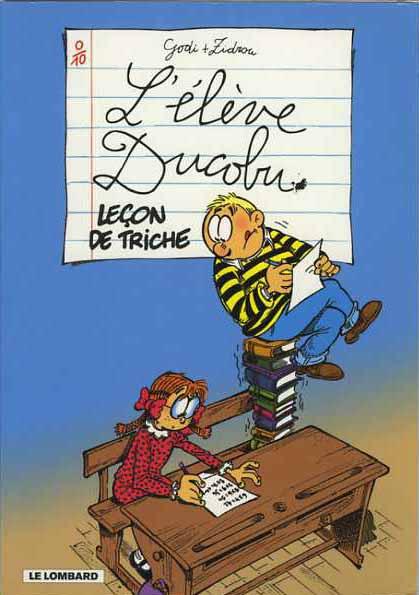 Couverture de L'Élève Ducobu -Quick1- Leçon de triche