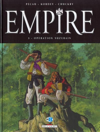 Couverture de Empire (Pécau/Kordey) -3- Opération Suzerain