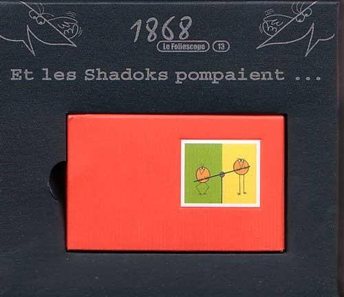 Couverture de Les shadoks -8- et les Shadoks pompaient...
