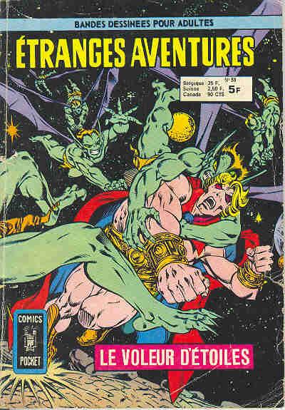 Couverture de Étranges aventures (1re série - Arédit) -58- Le voleur d'étoiles