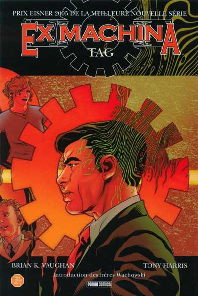 Couverture de Ex Machina (Editions USA & Panini) -2- Tag