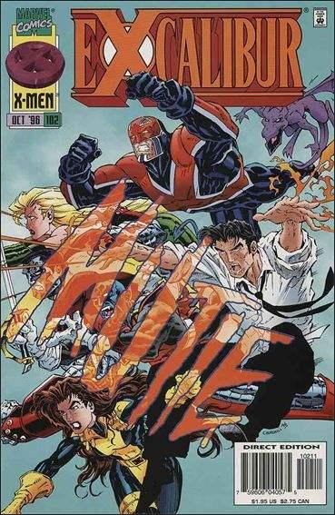 Couverture de Excalibur (1988) -102- After the bomb