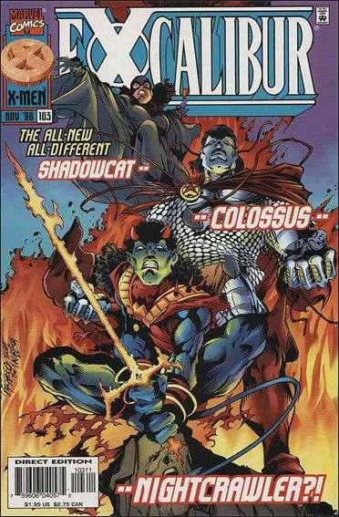 Couverture de Excalibur (1988) -103- Bend sinister reprise