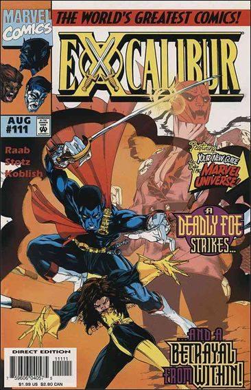 Couverture de Excalibur (1988) -111- Broken vows