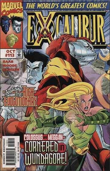 Couverture de Excalibur (1988) -113- Faith