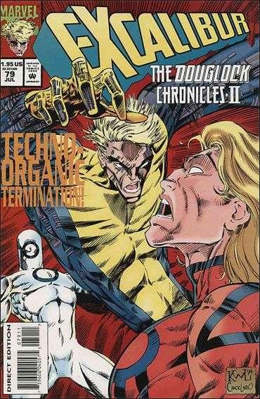 Couverture de Excalibur (1988) -79- The douglock chronicles part 2 : twisted logic