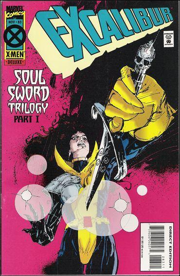 Couverture de Excalibur (1988) -83- Soul sword trilogy part 1 : bend sinister