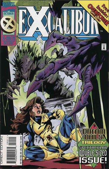 Couverture de Excalibur (1988) -90- Dream nails part 3 : blood eagle