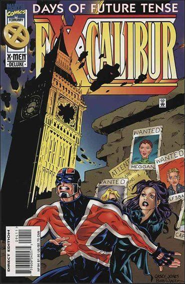Couverture de Excalibur (1988) -94- Days of future tense