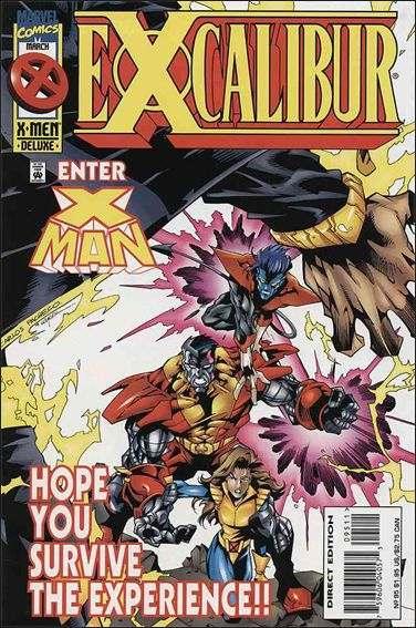 Couverture de Excalibur (1988) -95- Amplified heat