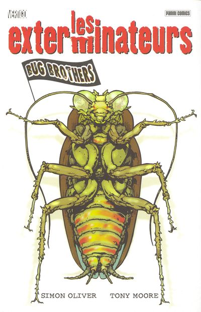 Couverture de Les exterminateurs -1- Bug brothers