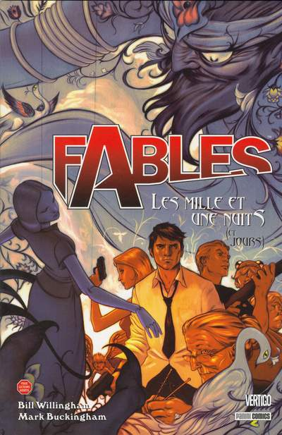 Couverture de Fables (avec couverture souple) -8- Les mille et une nuits (et jours)