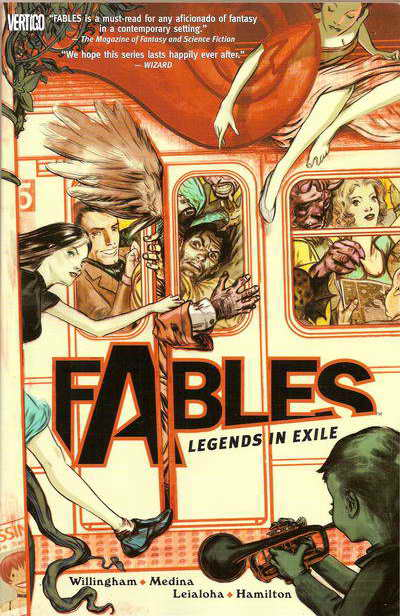 Couverture de Fables (2002) -INT01- Legends in exile