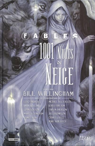 Couverture de Fables (avec couverture souple) -GN- 1001 Nuits de Neige