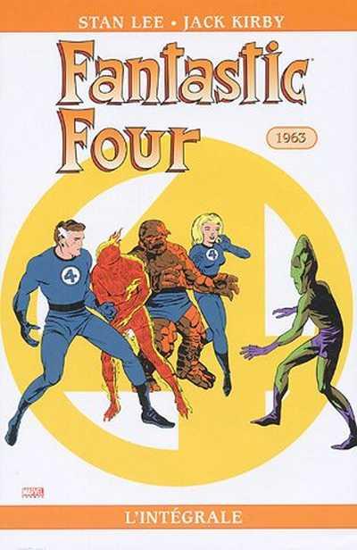 Couverture de Fantastic Four (L'intégrale) -2- Fantastic Four : L'intégrale 1963