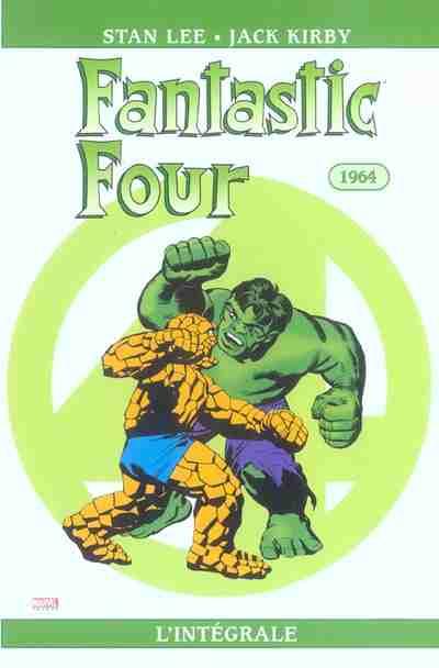 Couverture de Fantastic Four (L'intégrale) -3- Fantastic Four : L'intégrale 1964