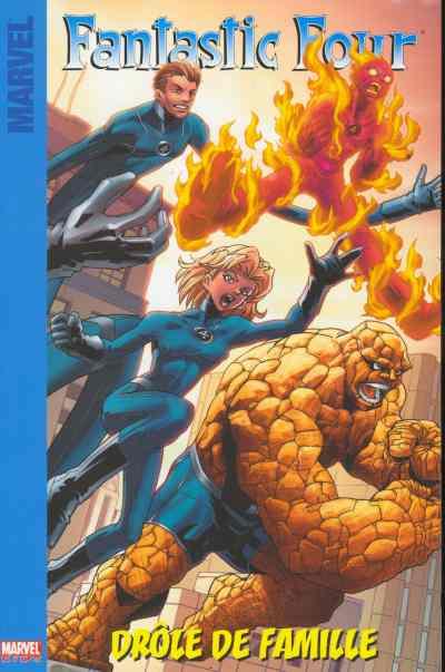 Couverture de Fantastic Four (Marvel Kids) -1- Drôle de famille