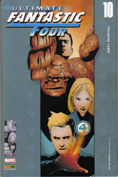 Couverture de Ultimate Fantastic Four -10- Défi mortel