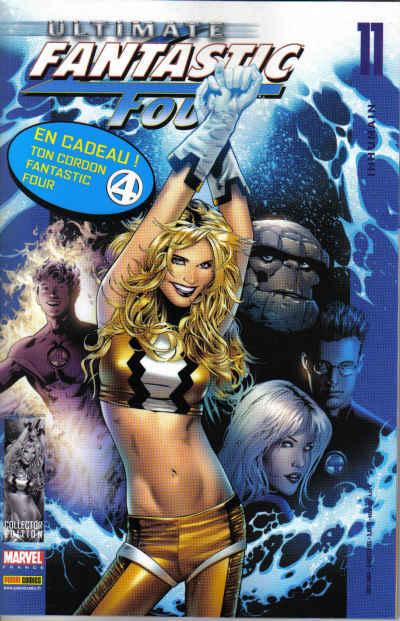 Couverture de Ultimate Fantastic Four -11- Inhumain
