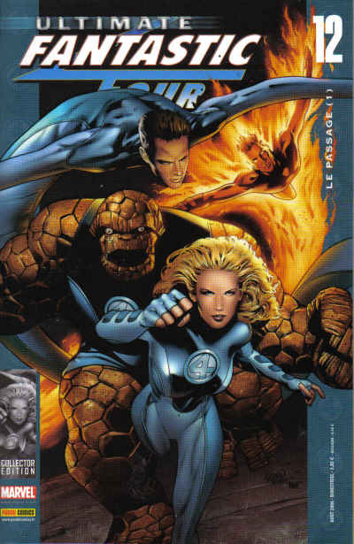 Couverture de Ultimate Fantastic Four -12- Le passage