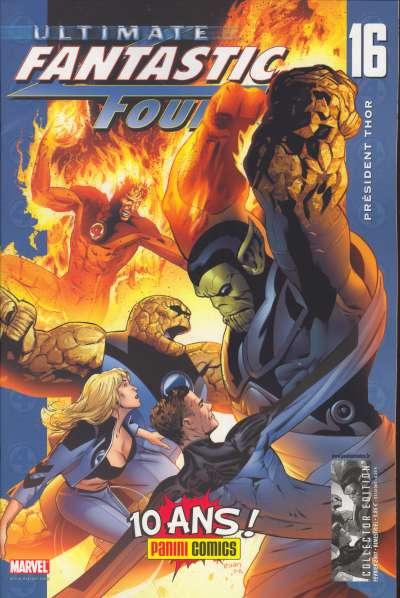 Couverture de Ultimate Fantastic Four -16- Président Thor