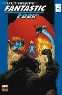 Couverture de Ultimate Fantastic Four -19- Le retour de l'homme-taupe