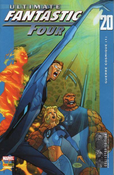 Couverture de Ultimate Fantastic Four -20- Guerre cosmique (1)