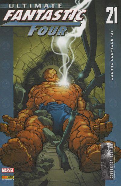 Couverture de Ultimate Fantastic Four -21- Guerre cosmique (2)