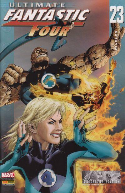 Couverture de Ultimate Fantastic Four -23- Diables