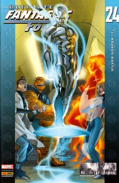 Couverture de Ultimate Fantastic Four -24- Silver surfer (1)