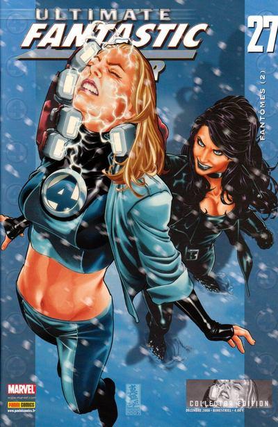 Couverture de Ultimate Fantastic Four -27- Fantômes (2)