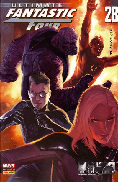 Couverture de Ultimate Fantastic Four -28- Thanos (1)