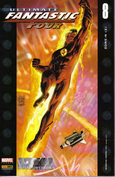 Couverture de Ultimate Fantastic Four -8- Zone-N (2)
