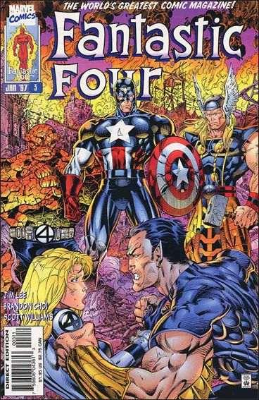 Couverture de Fantastic Four (1996) -3- Revelations