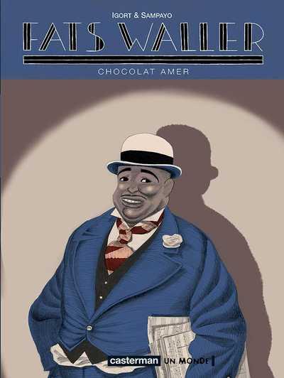 Couverture de Fats Waller -2- Chocolat amer